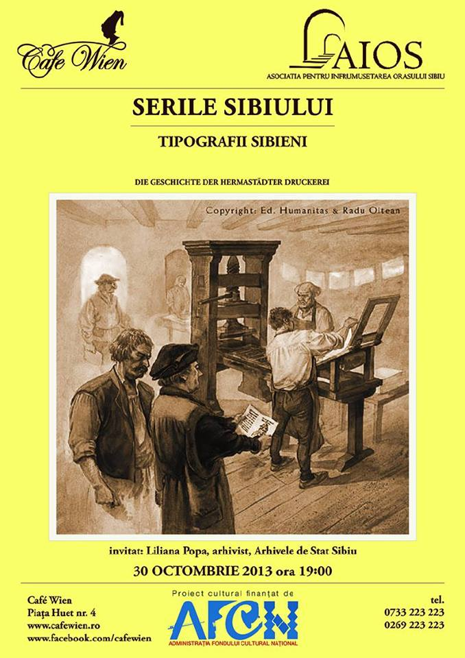 SERILE SIBIULUI - TIPOGRAFII SIBIENI
