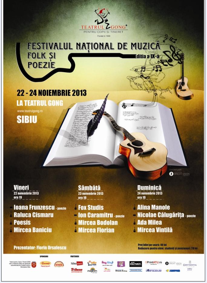 Festivalului National de Muzica Folk si Poezie