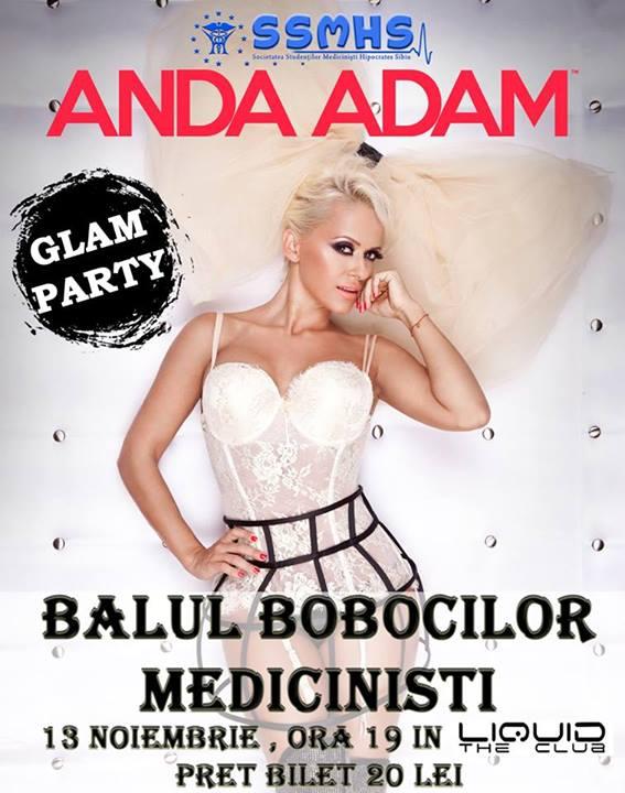 Concert Anda Adam la BALUL BOBOCILOR MEDICINISTI