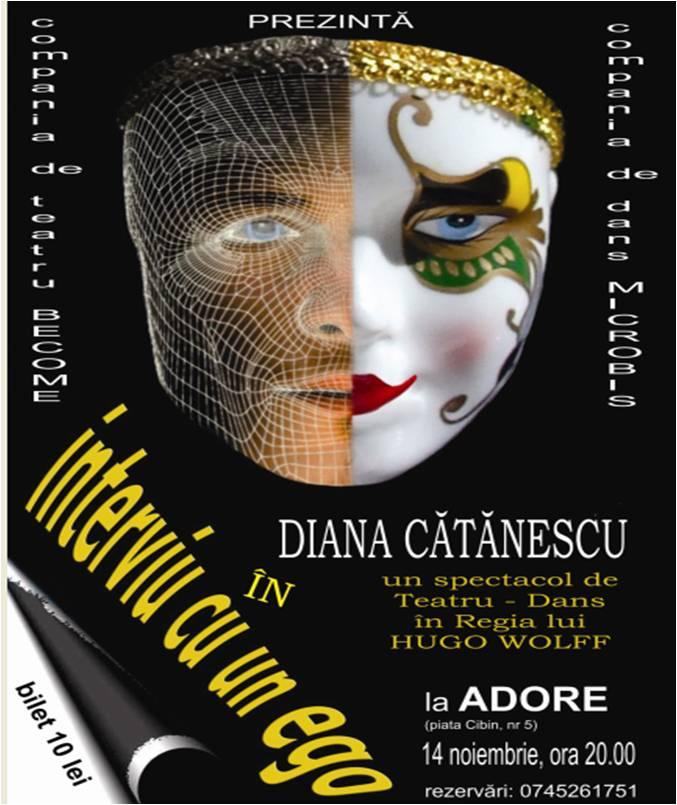 Teatru DANS: INTERVIU CU UN EGO