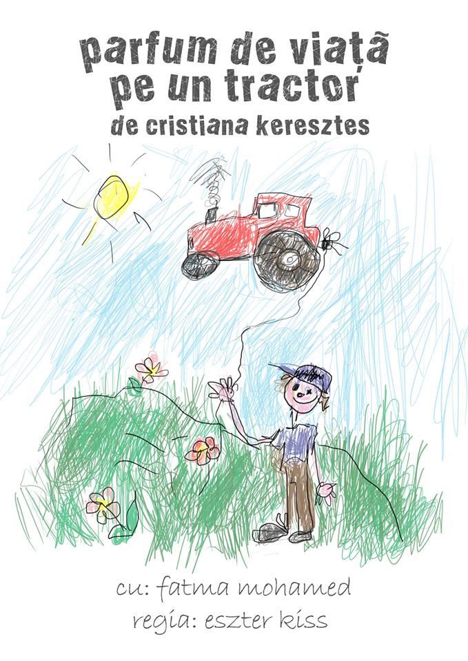 Parfum de viata pe un tractor