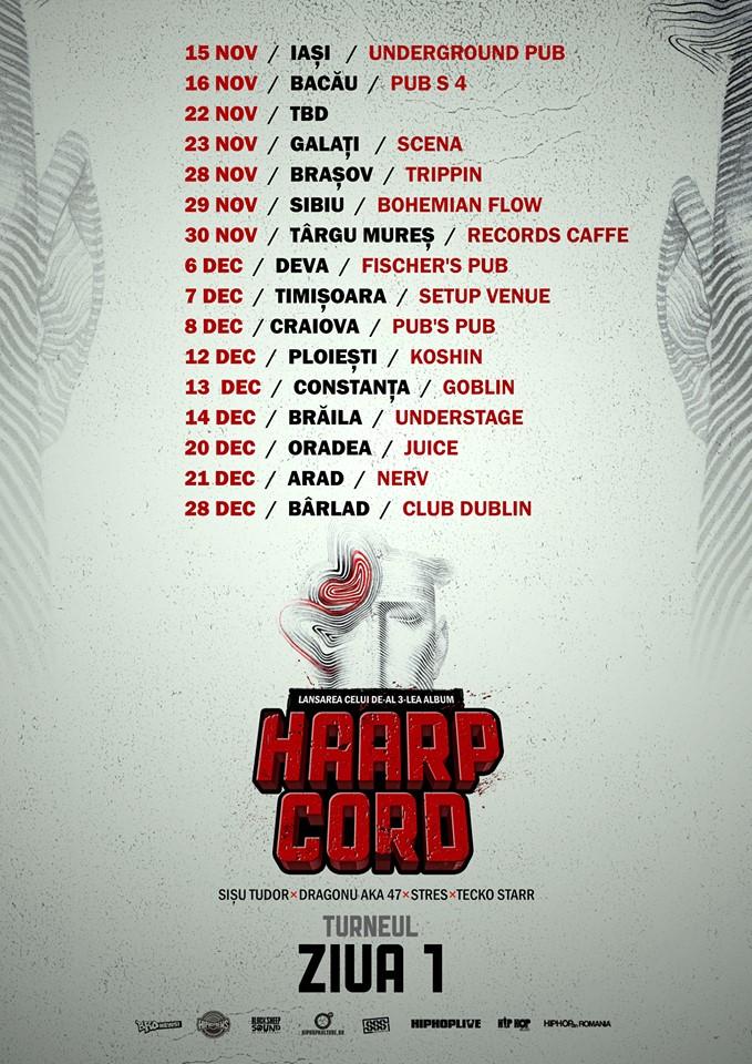 HAARP CORD - Turneul ZIUA 1
