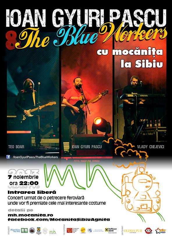 Ioan Gyuri Pascu & The Blue Workers la Sibiu