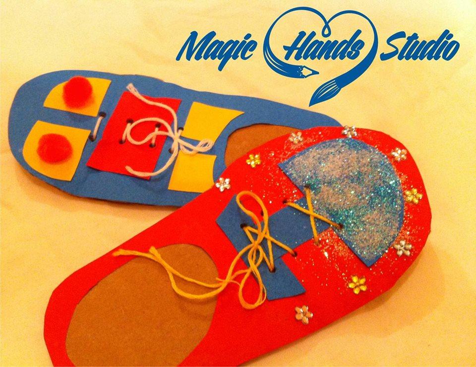 Atelier papuci magneţi pentru frigider
