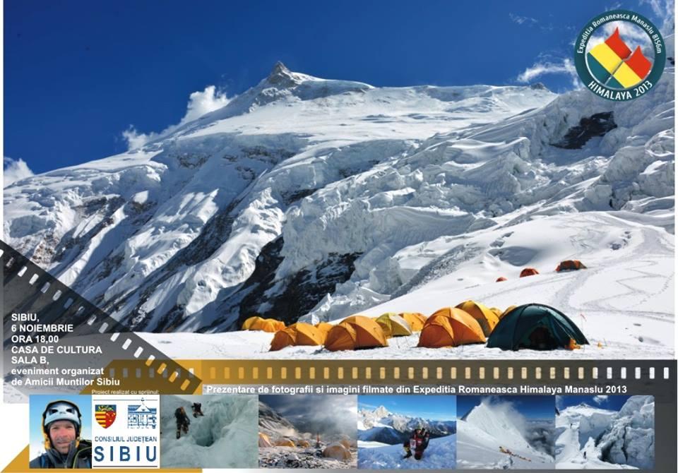 Prezentare expeditia din Himalaya, Manaslu