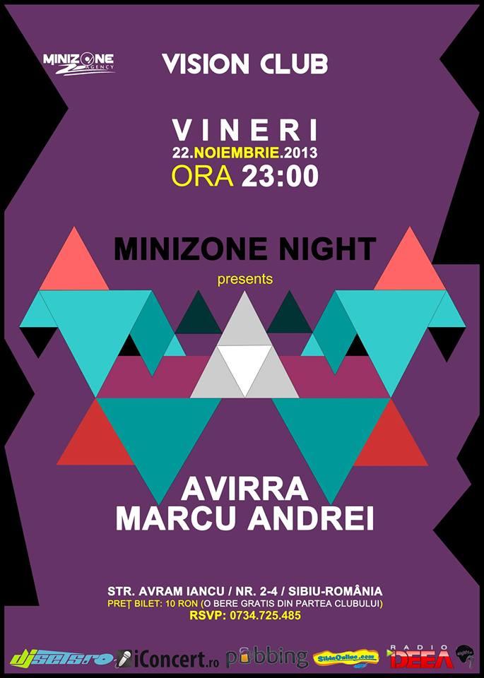 MINIZONE NIGHT cu AVIRRA & MARCU ANDREI