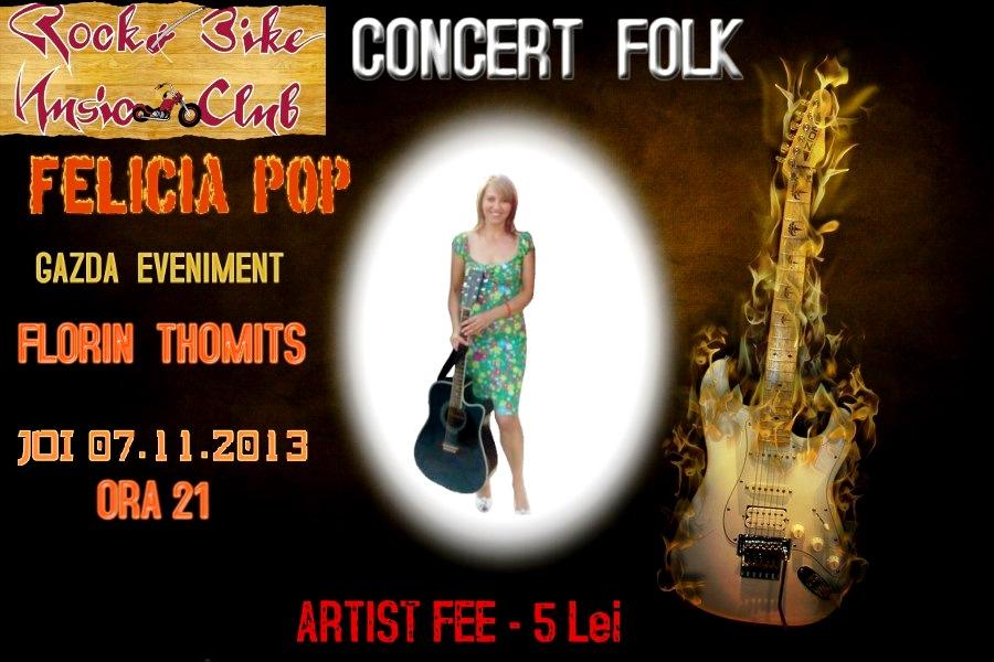 Concert folk Felicia Pop