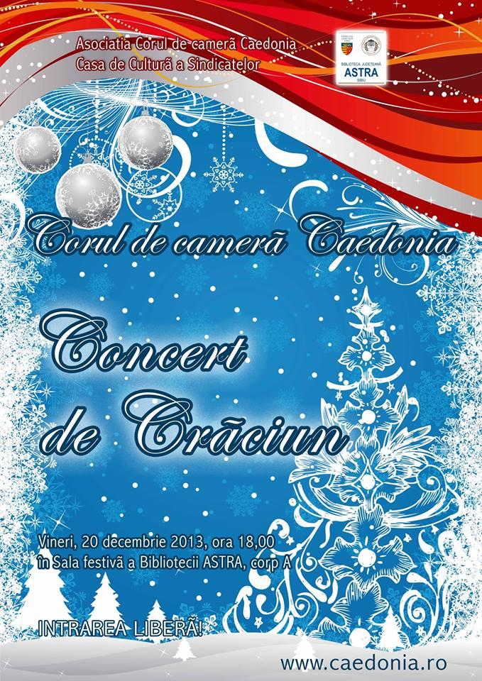 Concert de Craciun - Corul Caedonia