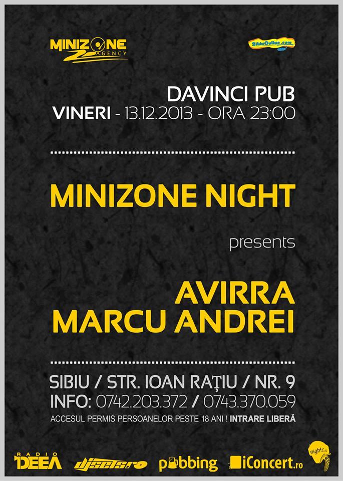 AVIRRA & MARCU ANDREI @ Davinci Pub