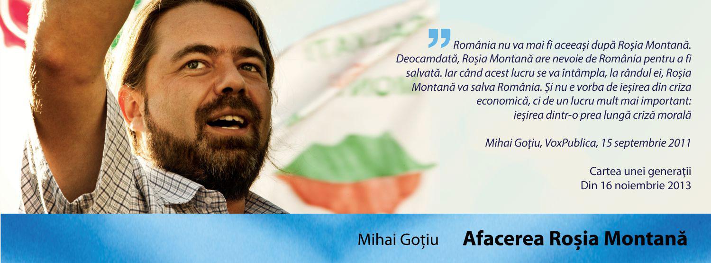 """Lansare de carte """"AFACEREA ROŞIA MONTANĂ"""""""