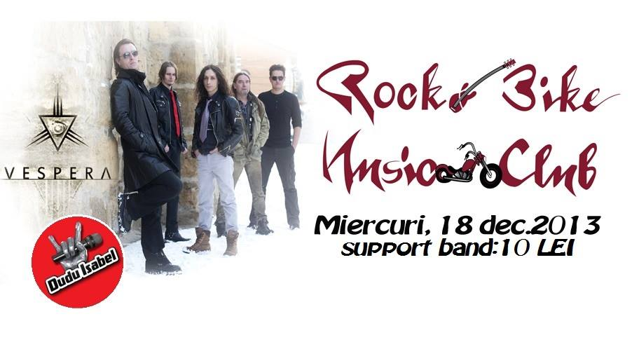 VESPERA live la ROCK'N'BIKE CLUB