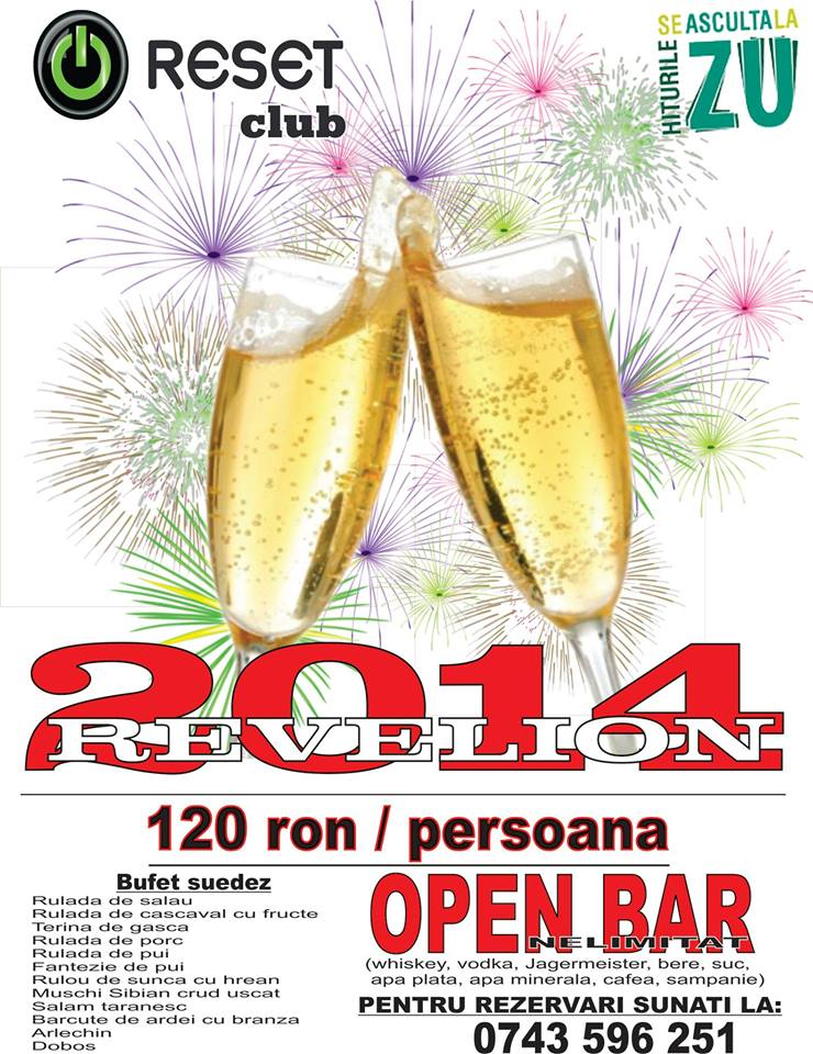 Revelion 2014 @ Reset Club