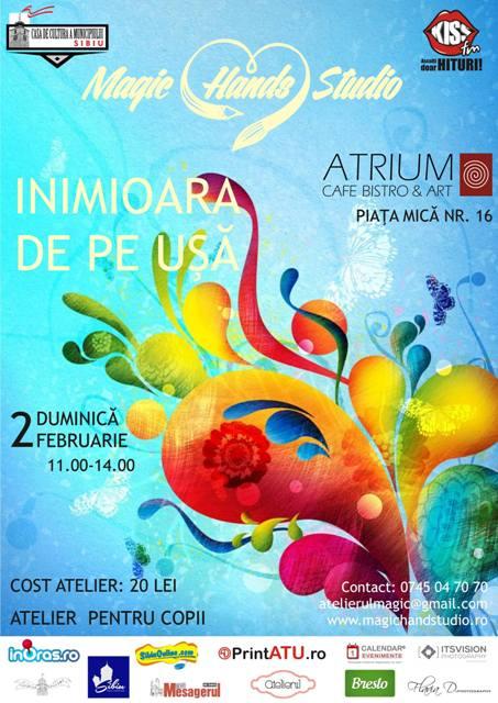 Atelier pentru copii : ''Inimoara de pe uşă'' la Atrium