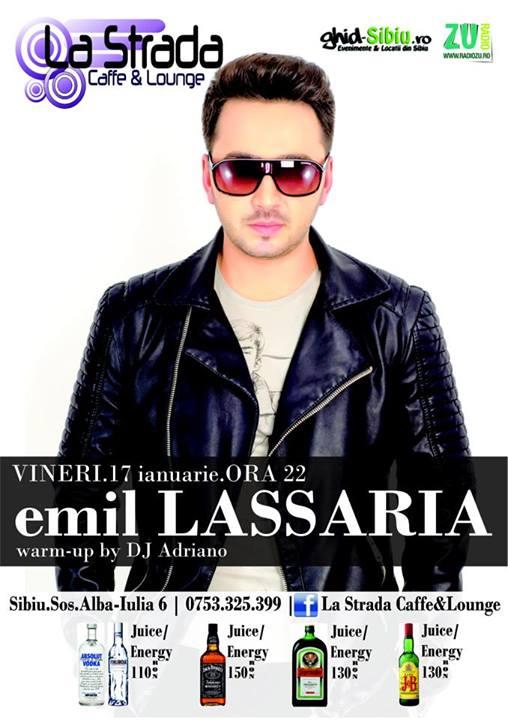 Emil Lassaria @ La Strada Caffe&Lounge