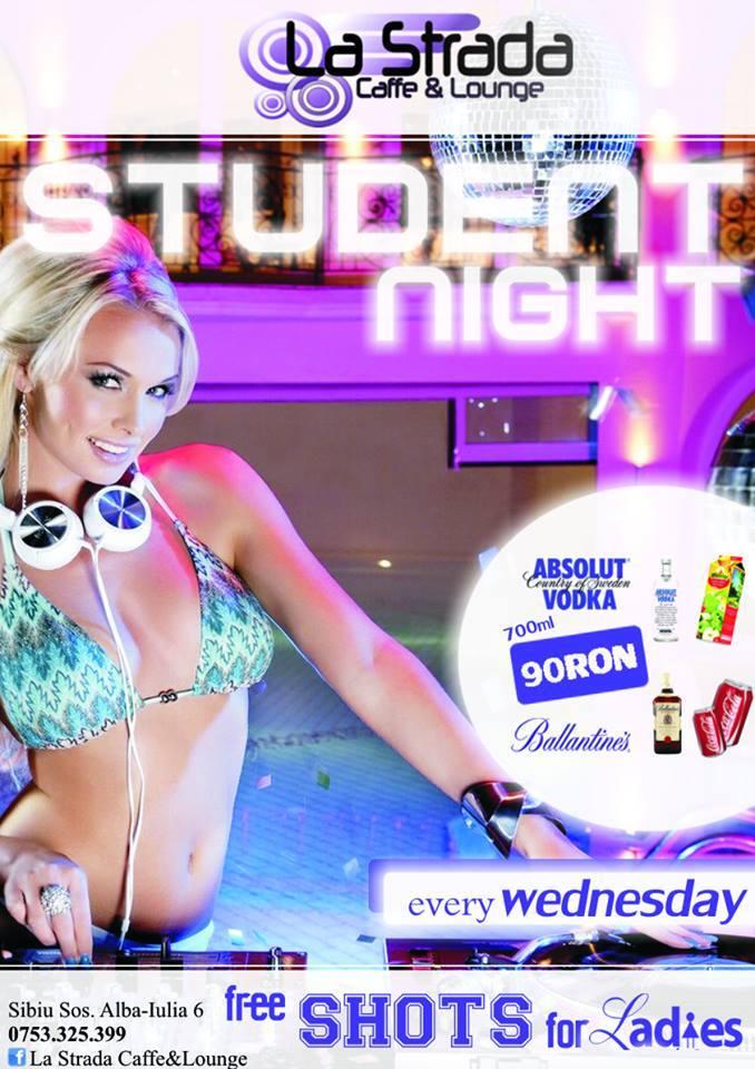 STUDENT NIGHT @ La Strada