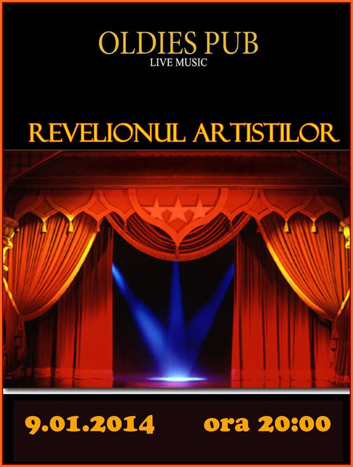 Revelionul Artistilor @Oldies Pub