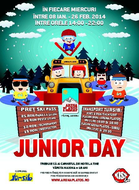 Junior Day la Arena Platoș