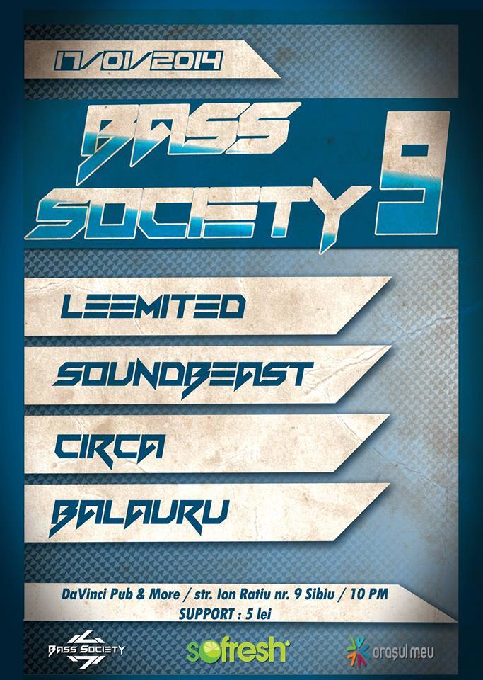 ✪ BASS SOCIETY 9 ✪ | Trash Can Agency vs. Bass Society Crew |