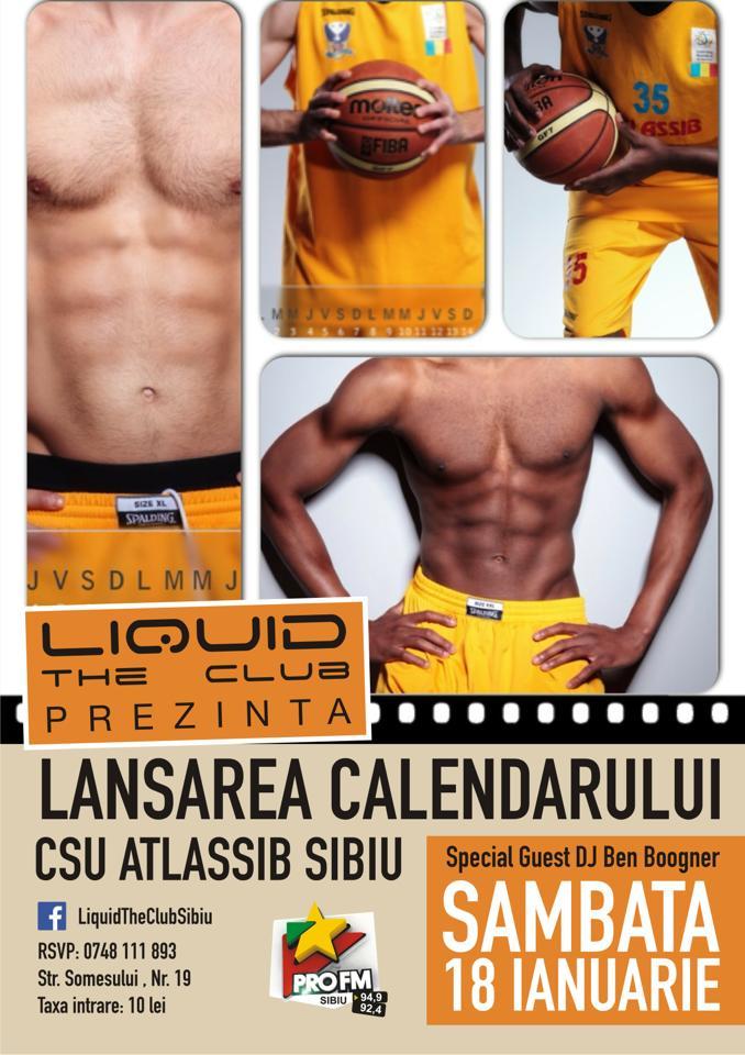 Lansarea calendarului CSU Atlassib Sibiu