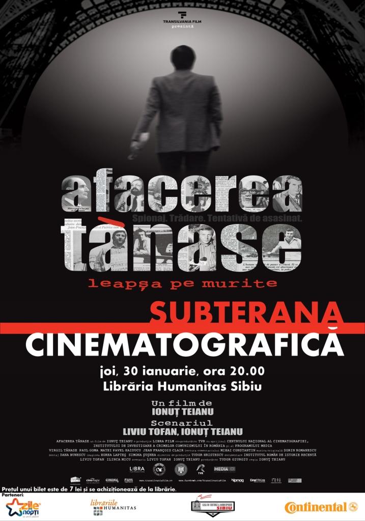 SUBTERANA CINEMATOGRAFICĂ - Afacerea Tănase