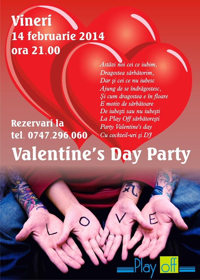 Valentine's Day Party @Play Off