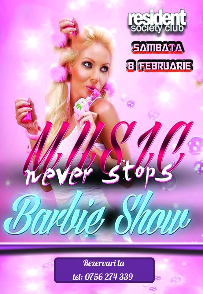 Barbie Show @Resident Society Club