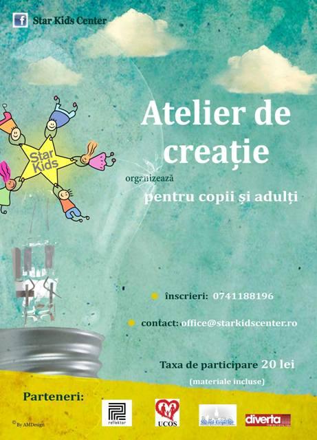 Atelierul de Iarnă - seara de creație pentru adulți și copii Ediția a V-a