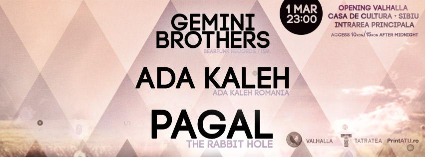 PAGAL | ADA KALEH | GEMINI BROTHERS