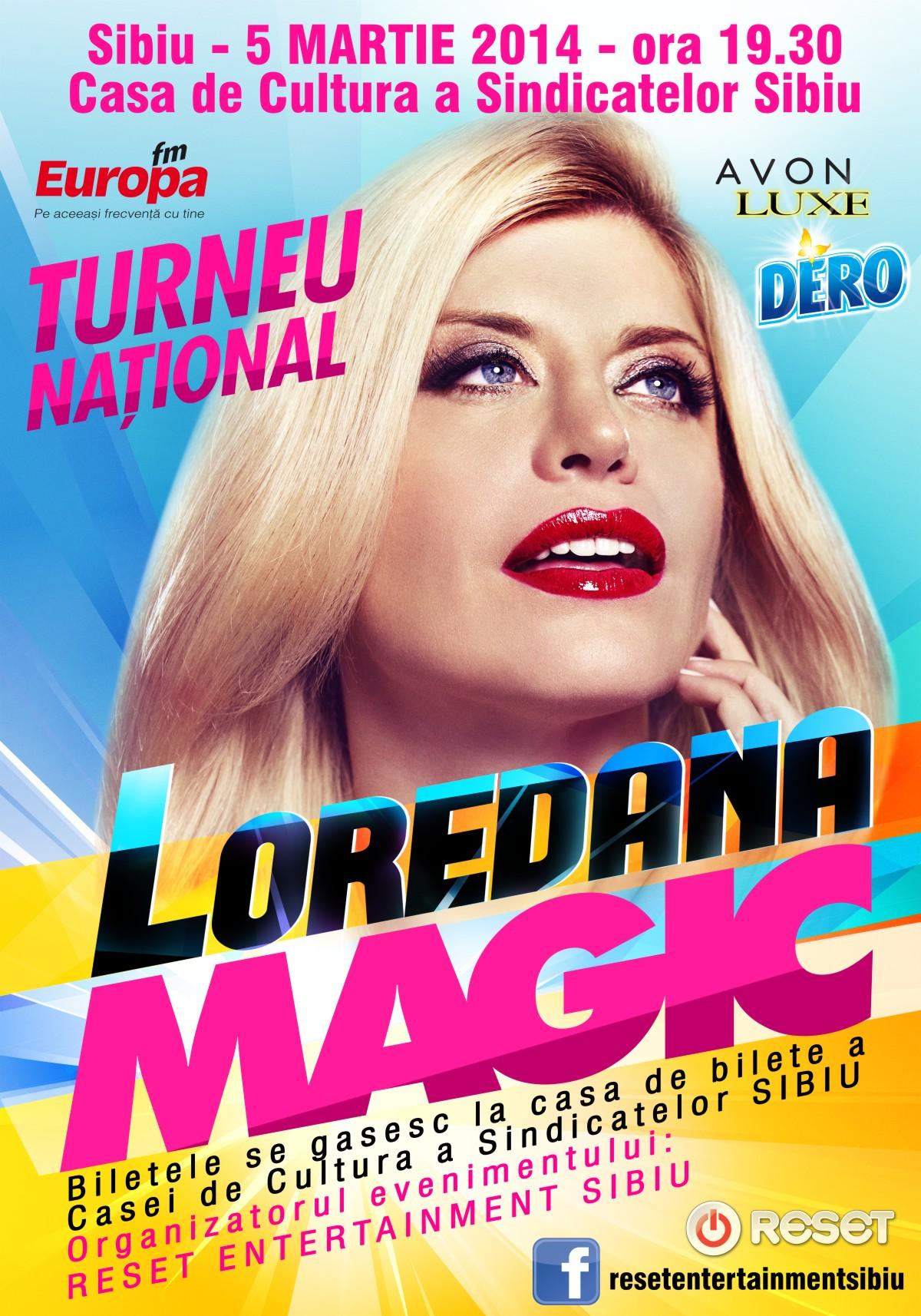 Loredana Groza in concert la Sibiu