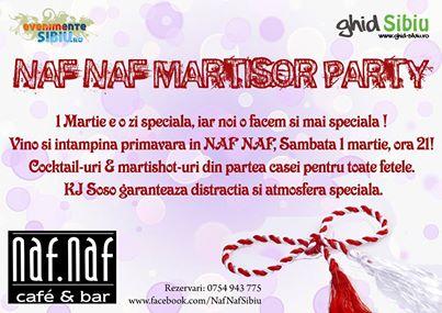 Naf Naf Martisor party