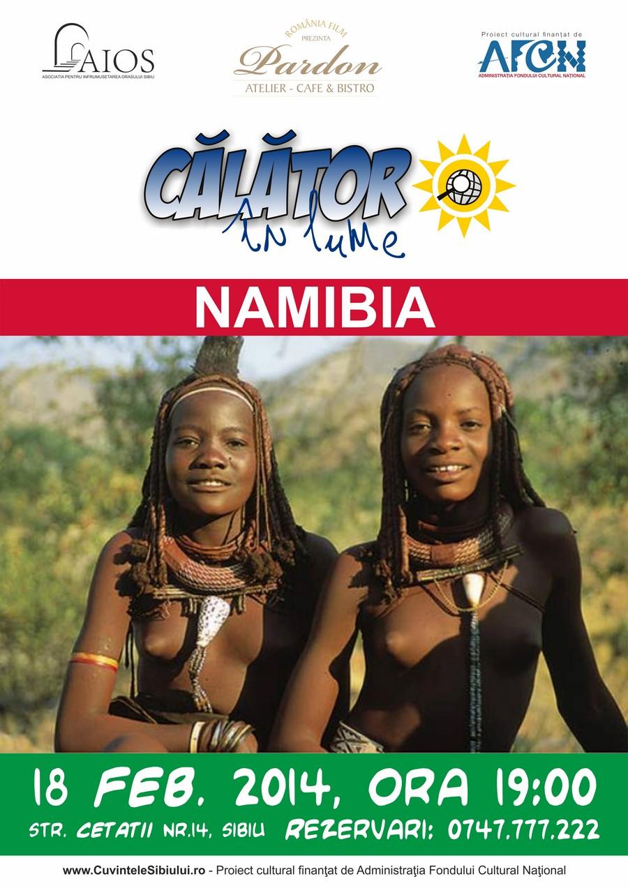 Călător în lume - Namibia, cu Holger Lux.