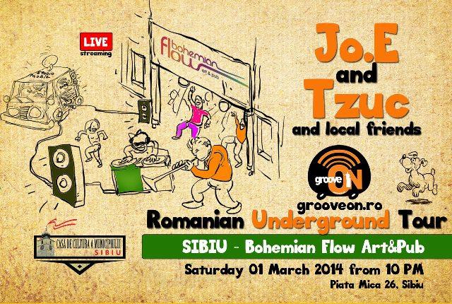 "Studio Mobil Groove ON | Turneul ""Romania Underground"""