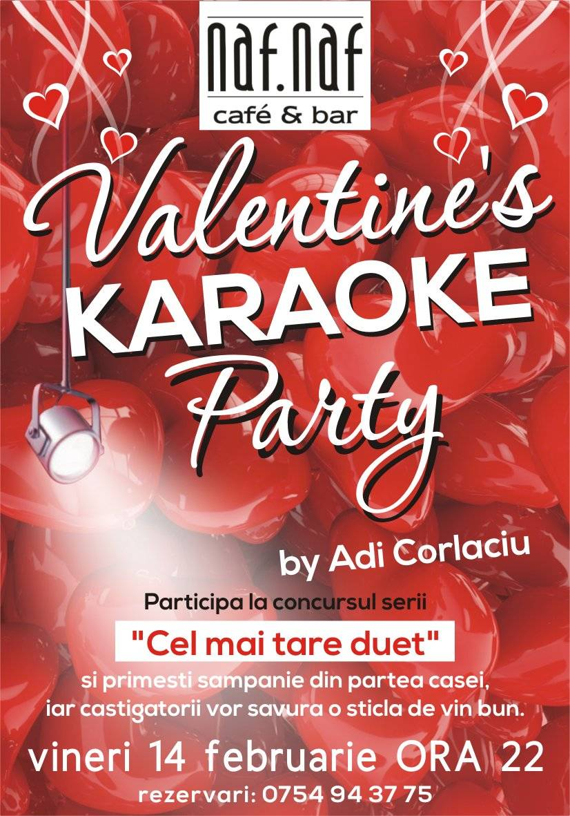 """Valentine's Karaoke Party"" by Adi Corlaciu"