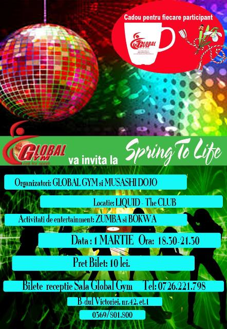 Spring To Life by Global Gym Fitness Fun