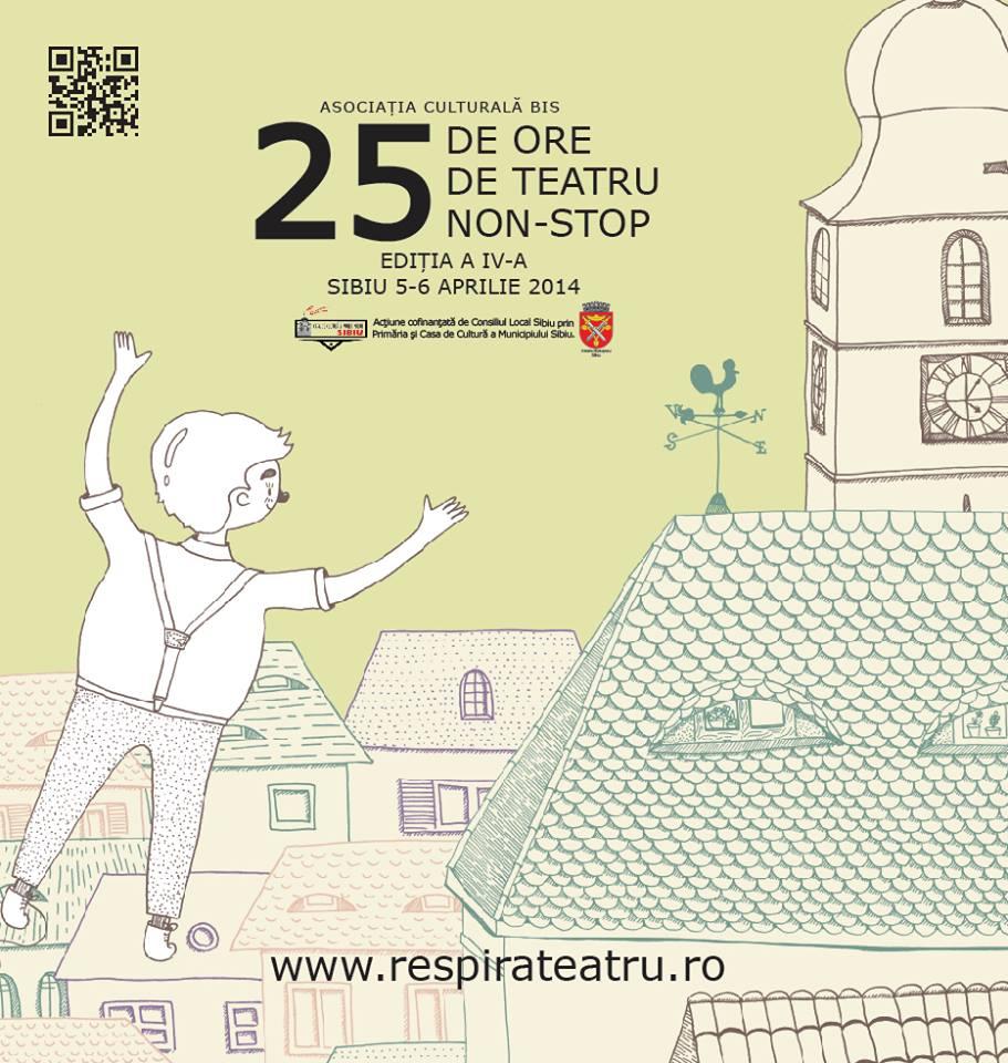 25 de ore de Teatru NON-STOP la ATRIUM
