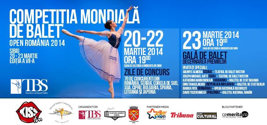 Competiția Mondială de Balet, Open România 2014