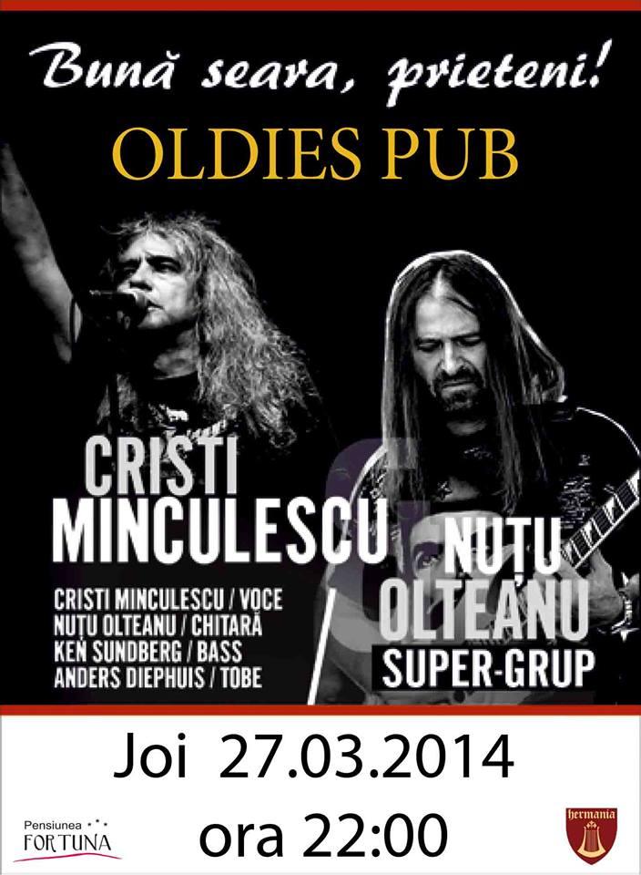 Concert CRISTI MINCULESCU & NUTU OLTEANU SUPER GRUP