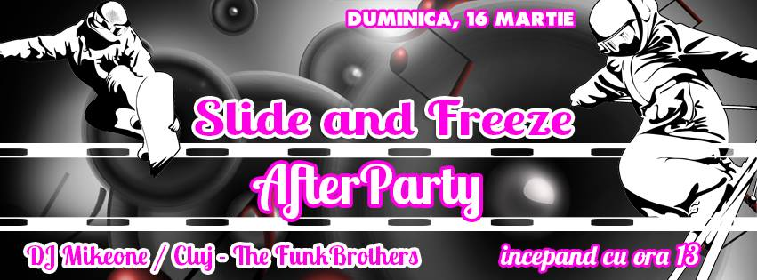 Slide and Freeze & Final Party