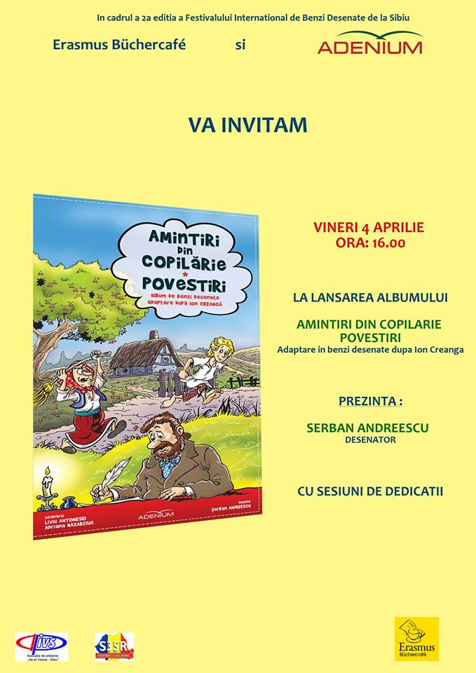 """Lansare de carte: """"Amintire din copilarie"""" Serban Andreescu"""
