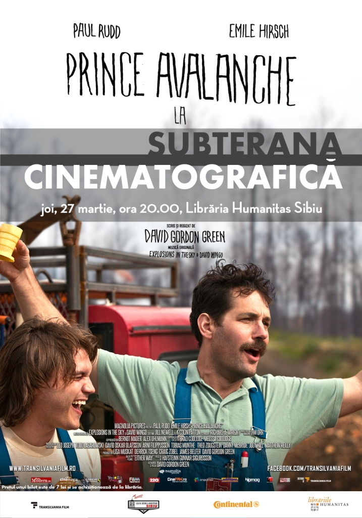 SUBTERANA CINEMATOGRAFICĂ - PRINCE AVALANCHE (2013)
