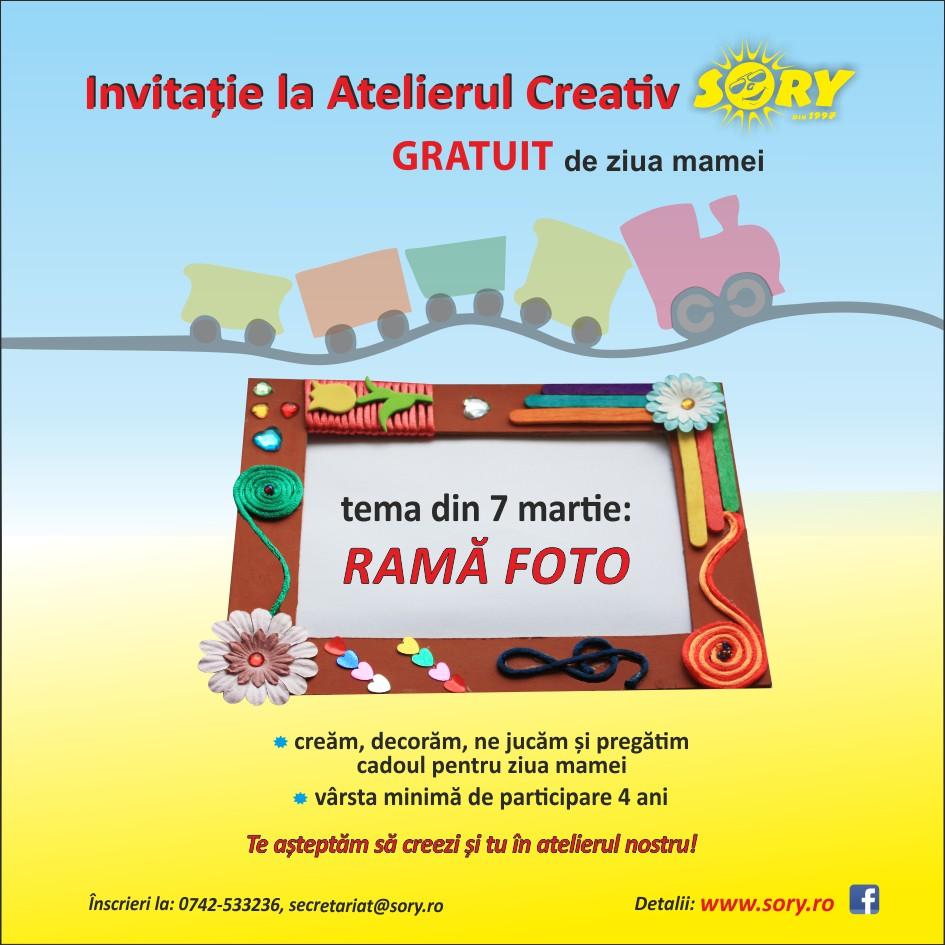 ATELIER CREATIV SORY gratuit - RAMA FOTO