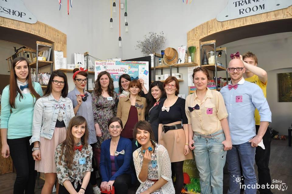 Meșterim papioane la incubator107 Sibiu