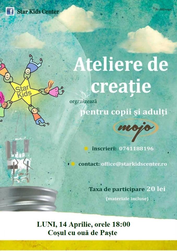 Atelier de Creație - Coșul cu ouă