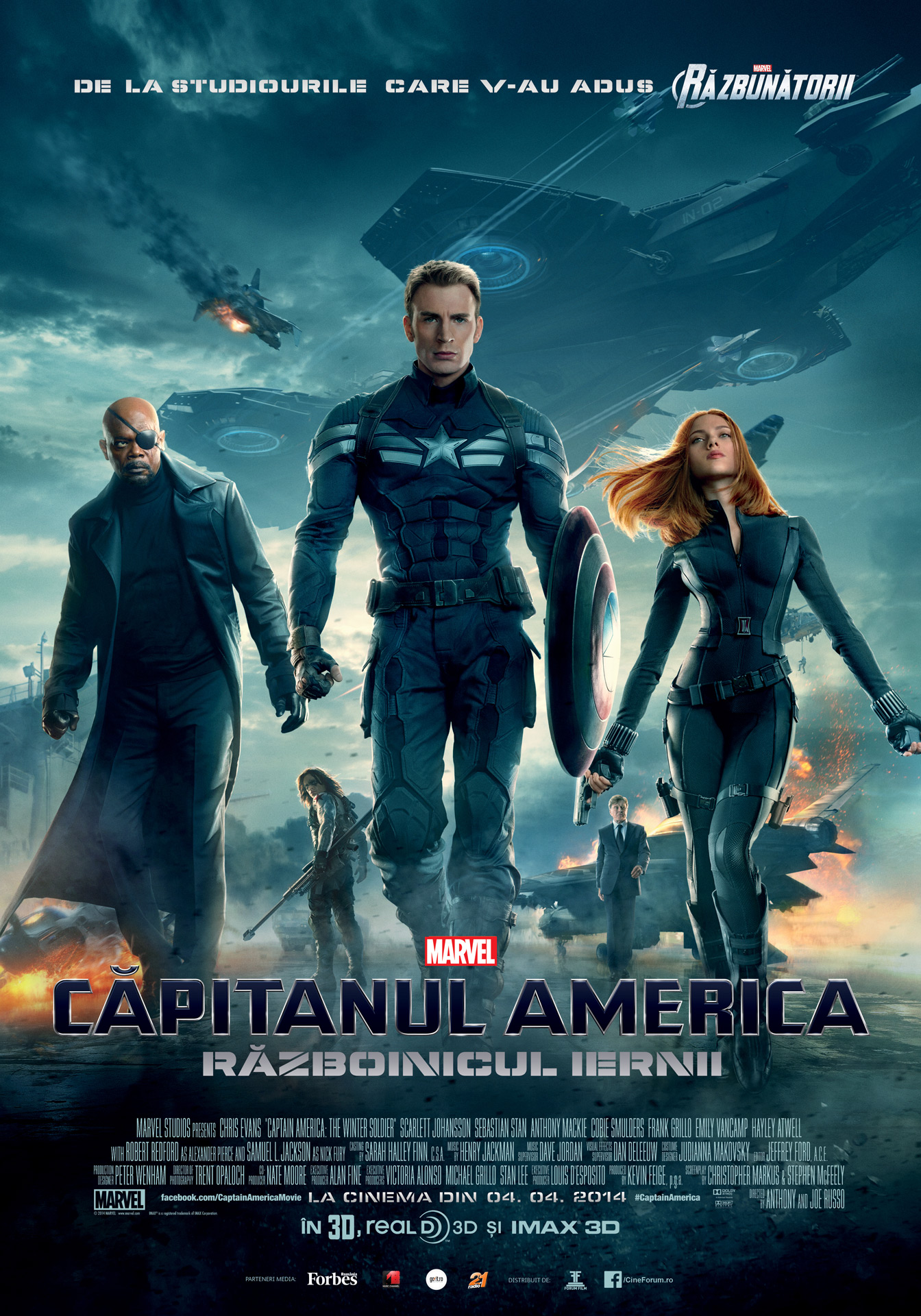 Capitanul America: Razboinicul iernii 3D