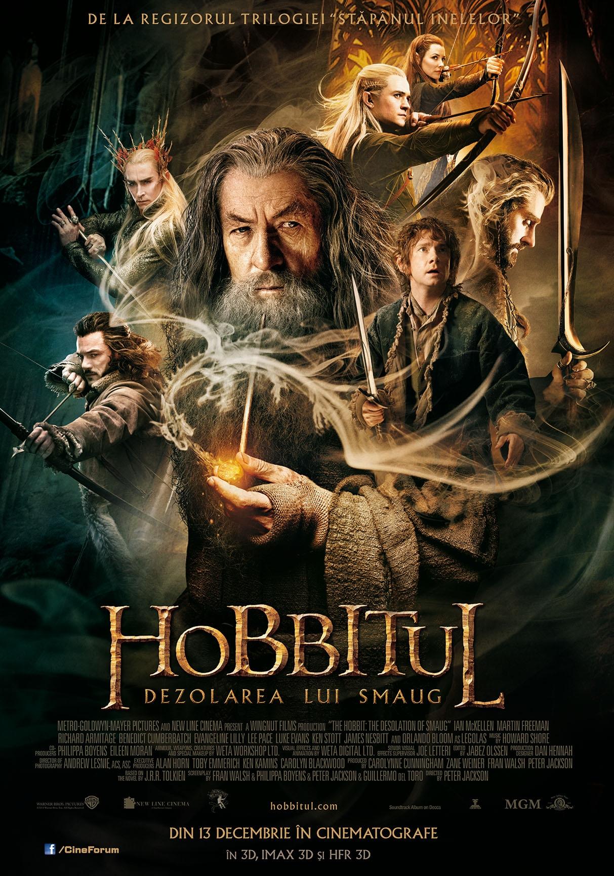 Hobbitul: Dezolarea lui Smaug 3D