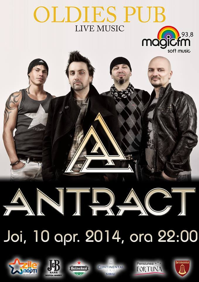 Antract live in Oldies PUB