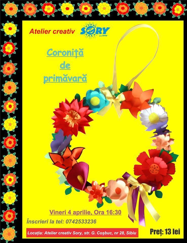 ATELIER CREATIV SORY: CORONITA PRIMAVARA