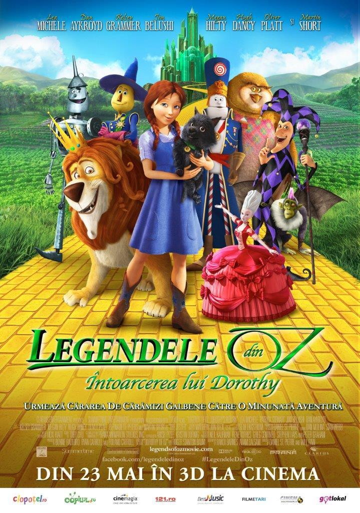 Legendele din Oz: Intoarcerea lui Dorothy – 3D (Dublat)
