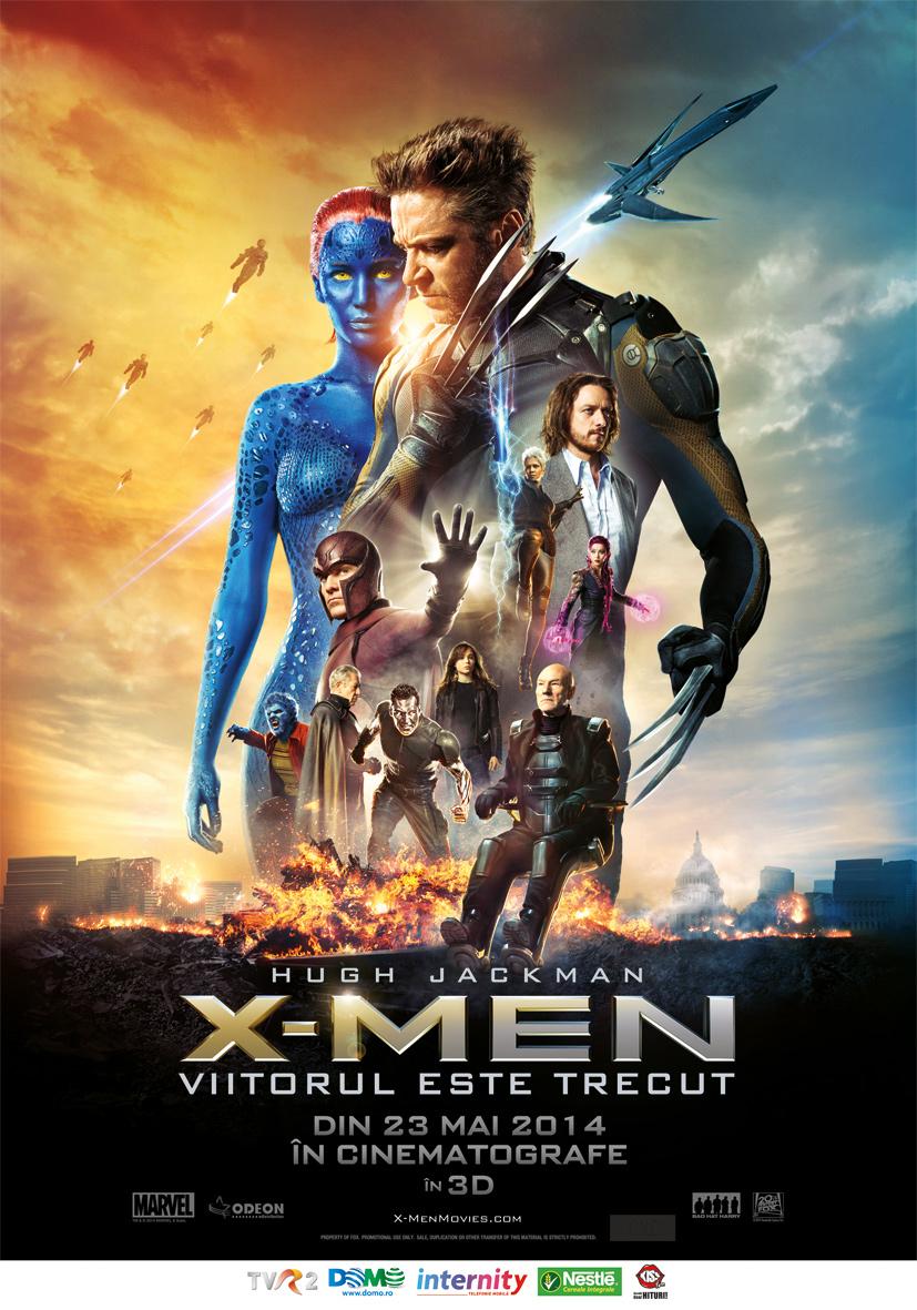 X-Men: Viitorul este trecut 3D (Premiera)