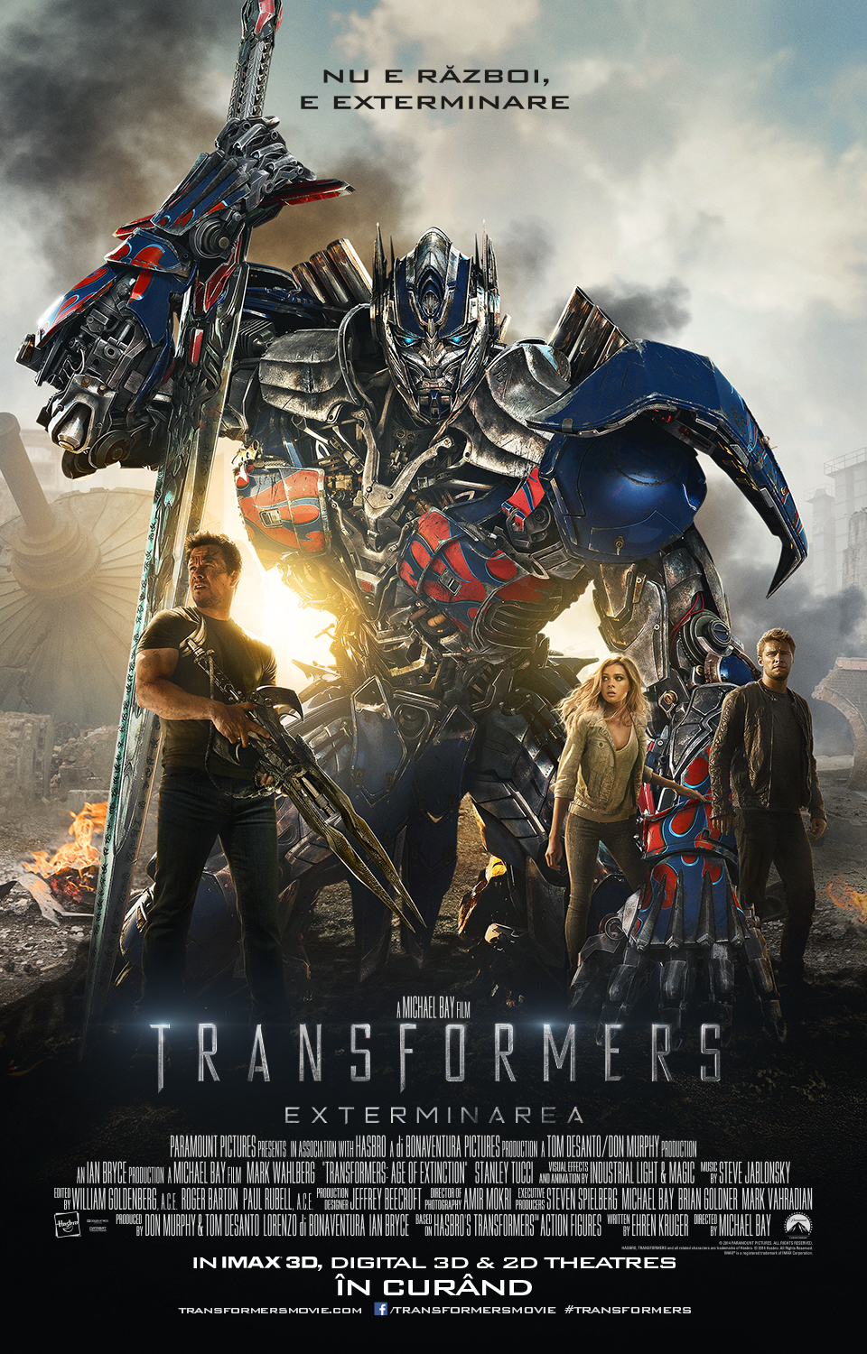 Transformers: Exterminarea 3D / Transformers: Age of Extinction 3D